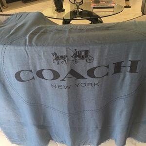 Coach Accessories - Coach New York shawl wrap scarf